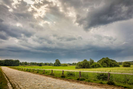 unaffected: Landscape with dark sky