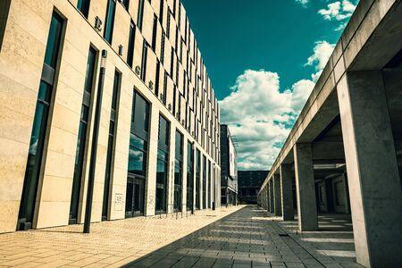 ber: Building at the airport in Berlin BER