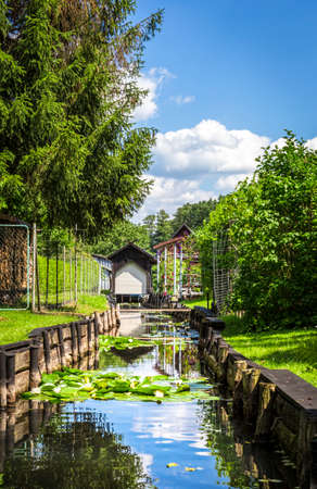 peace plan: Water canal in the Spreewald