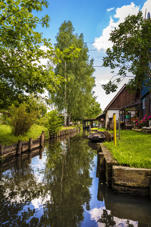 Water canal in the Spreewald