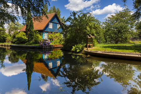 Haus im Spreewald in Germany
