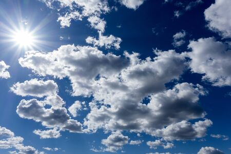 ozone layer: Clouds Stock Photo