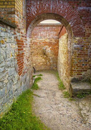 spandau: Passage in a castle