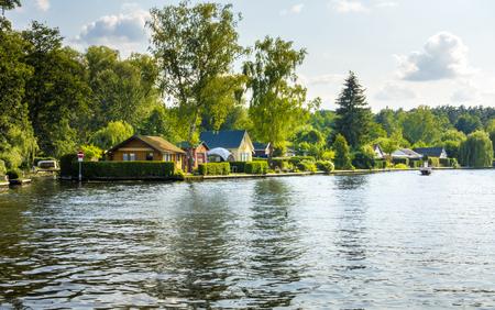 property berlin: live near the lake Stock Photo