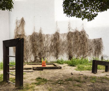 orphaned: a childrens playground in Berlin