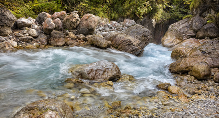sublime: small river in the mountains