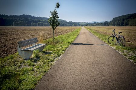 off path: a road for bicycles