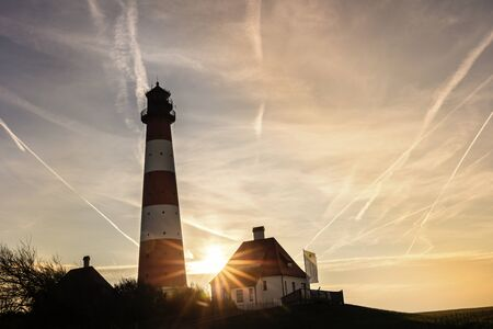 westerhever: Lighthouse Westerhever