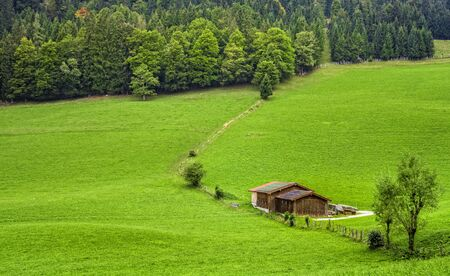 woodshed: Landscape in Bavaria