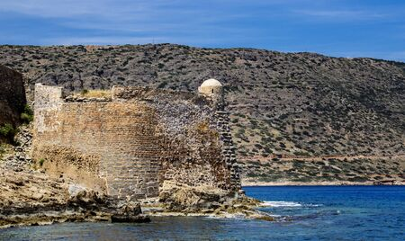 significantly: Fortress Spinalonga in Crete