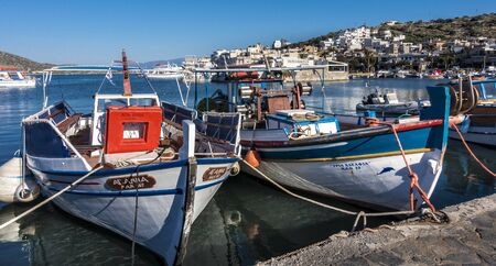 fishing boats: Fishing boats in Crete