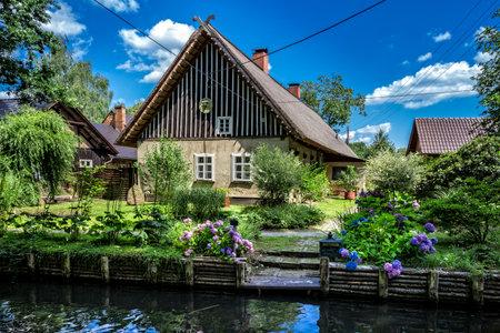 garden settlement: im Spreewald in Brandenburg