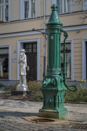 anno: an old water pump in Berlin
