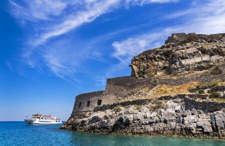 significantly: The fortress Spinalonga in Crete