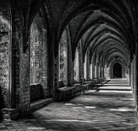 the monastery in Chorin
