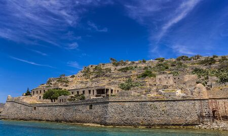strategically: Fortress Spinalonga in Crete