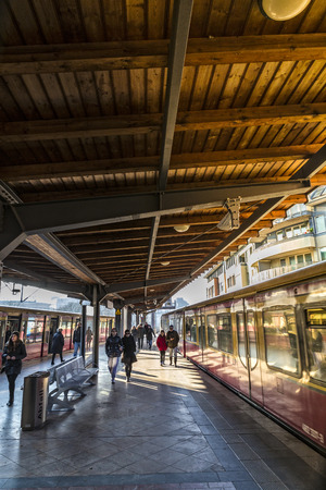 westend: a station in berlin Editorial