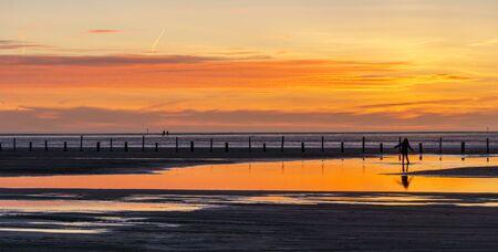spiegelung: sunset