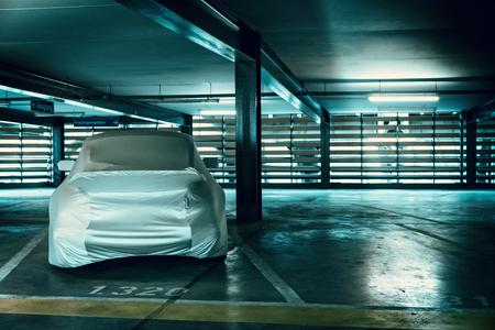 in the garage Reklamní fotografie - 57488254