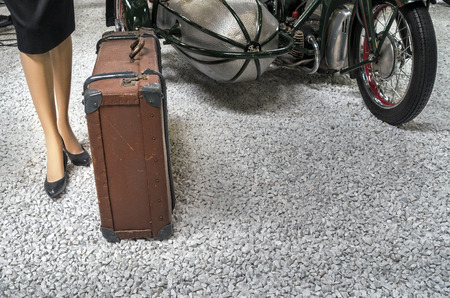 sidecar: old suitcases for the journey