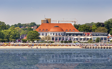 baltic sea: on the Baltic Sea beach