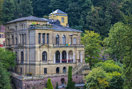 housebuilding: alte Villa in Heidelberg Editorial
