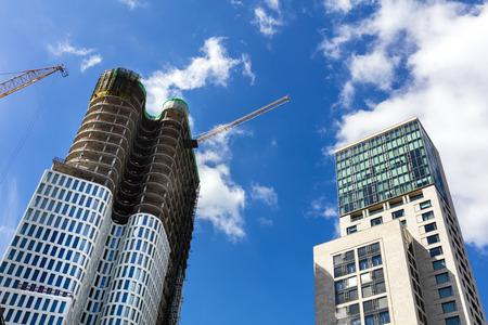 property berlin: skyscraper in the city west of Berlin Stock Photo