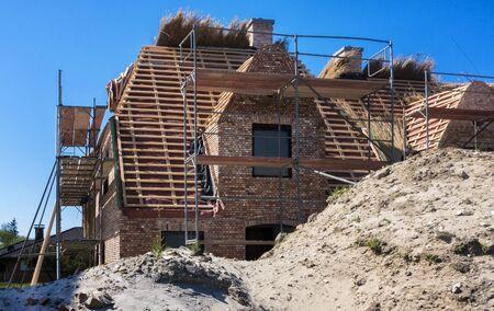 homeownership: new construction of a villa in northern Germany