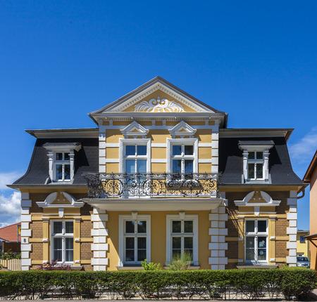Villa on the North Sea beach