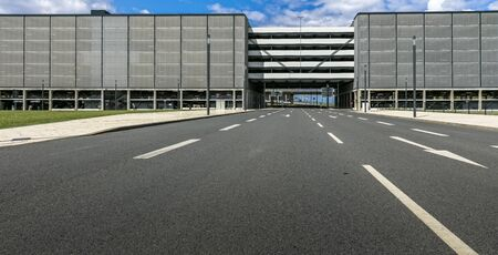 brandt: Car park at the new airport in Berlin Branenburg
