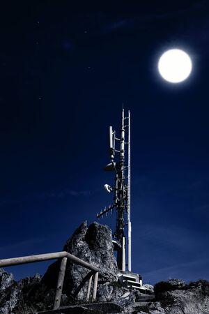 Antenna on the Jenner in Schoenau