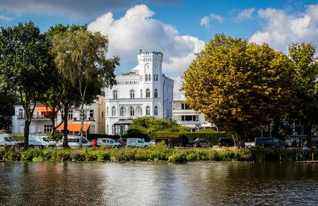 Villa on the Elbe in Hamburg