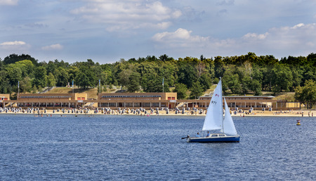 the Wannsee in Berlin