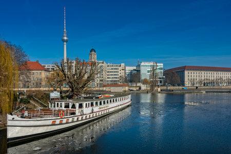 Boat in berlin