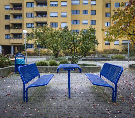 hartz 4: Dreary playground in berlin