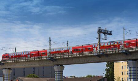 The train in berlin