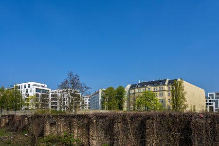 housing lot: Living in berlin Stock Photo