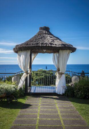 gartenanlage: Wedding pavilion