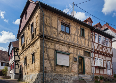 Old timbered house