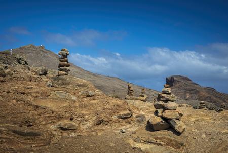 Stapel stenen Stockfoto
