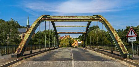 dilapidated bridge in germany