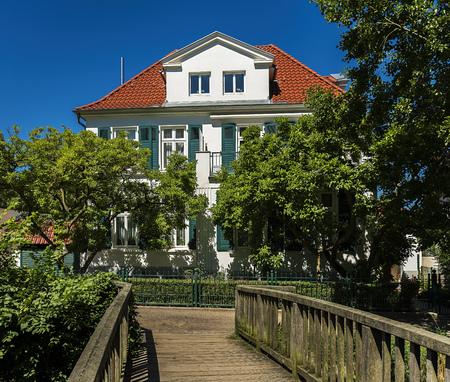 Home in a village in Germany Stock fotó