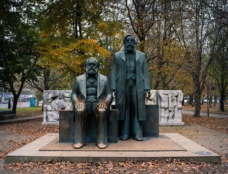 Memorial of Marx and Engels in Berlin