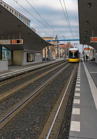 tram station berlin main station Editorial