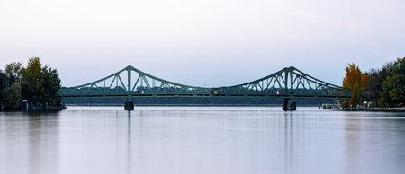 the glienicker bridge in berlin