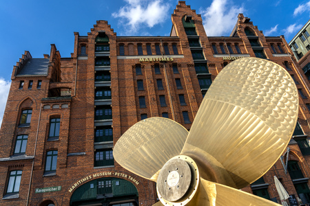 maritime museum in hamburg Stock Photo