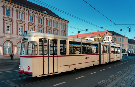 Old tram in Potsdam