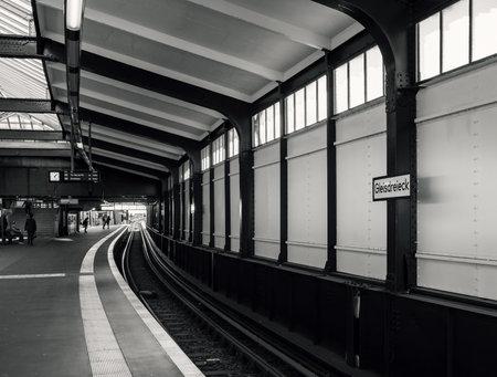 Railway Station Triangle in Berlin