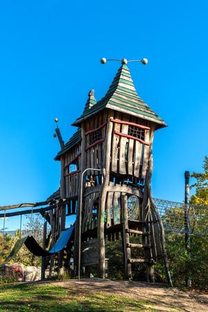 Adventure playground in Berlin