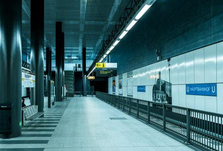 train station in Berlin 新聞圖片